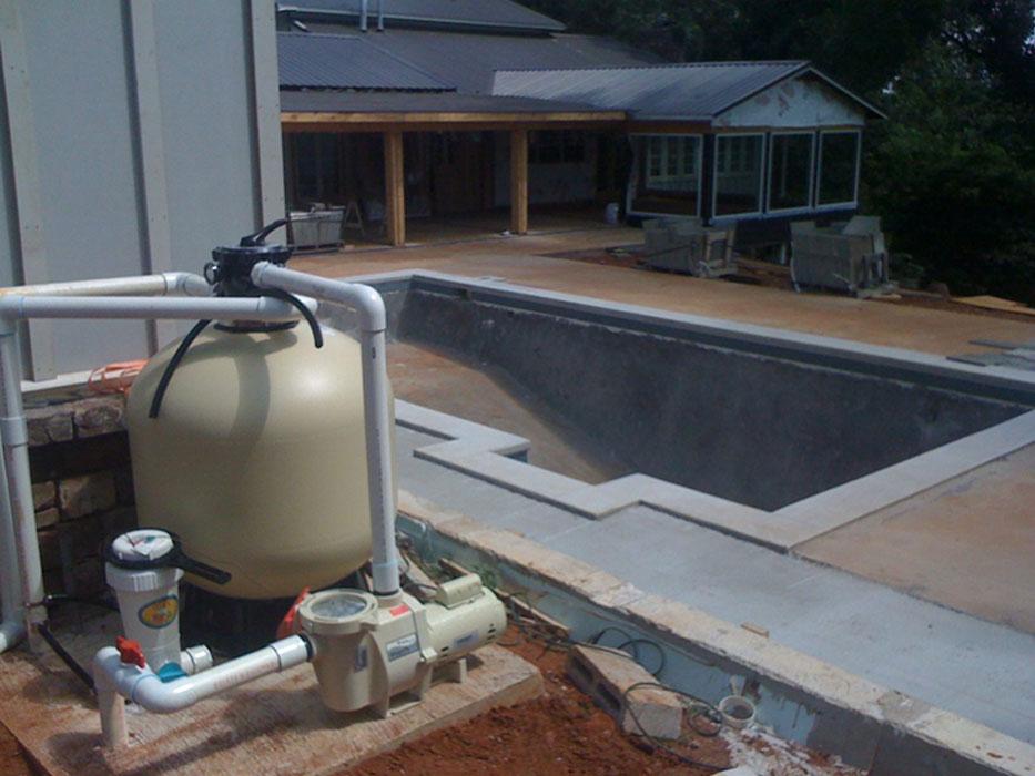 Instalación de bombas de piscina