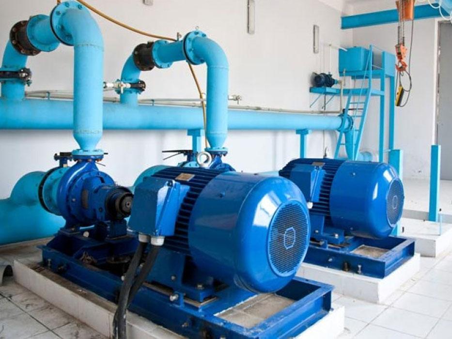 Instalación de equipos hidraúlicos