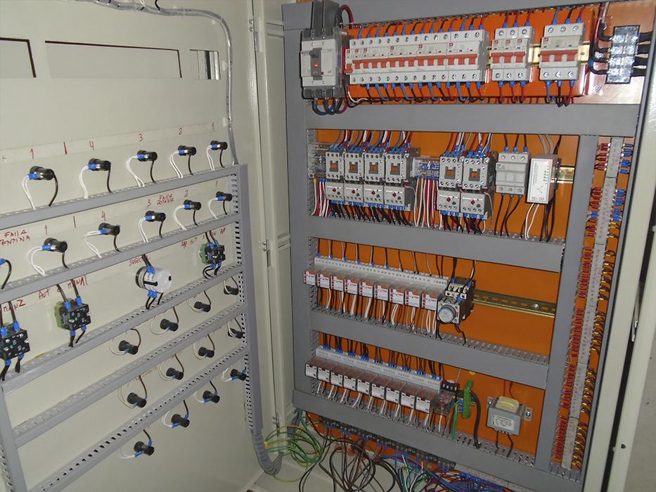 Diseño, construcción y mantención de tableros electricos