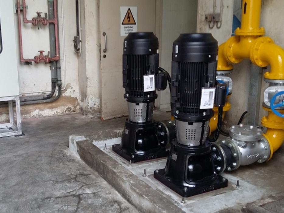 Reparación de bombas de sistemas hidráulicos