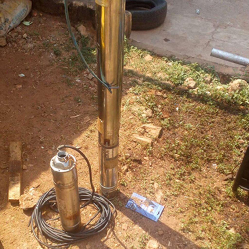 reparación de bombas de pozo profundo