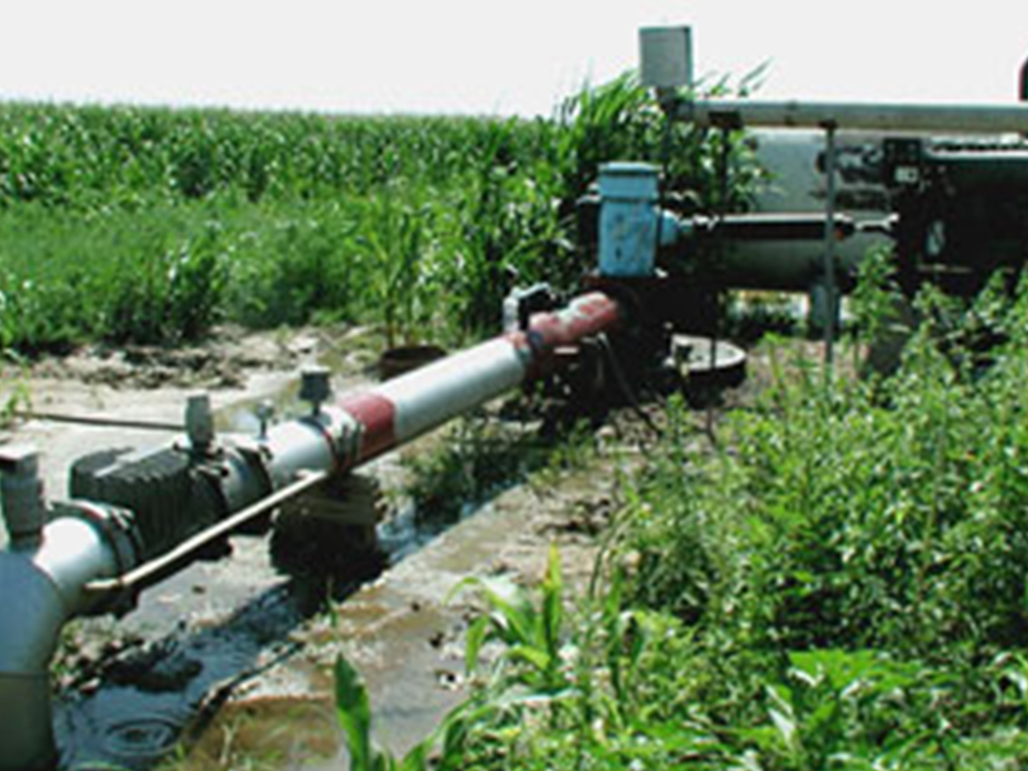 instalación de bombas para riego