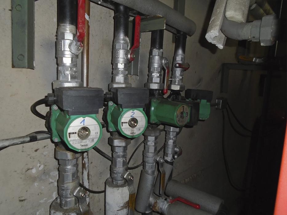 mantención de bombas Recirculadoras 6