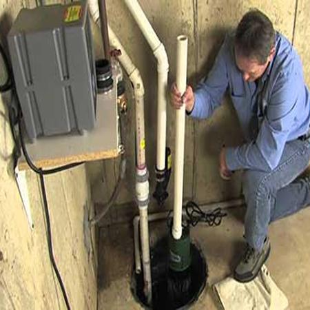 Instalación de bombas de aguas servidas