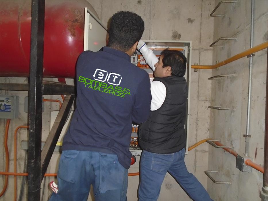 Mantención de tableros electricos para bombas de agua .- galería 2