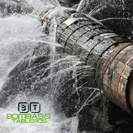 Reparación de matriz de agua potable